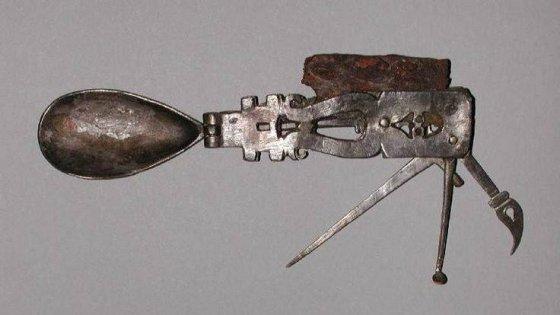 შვეიცარიული სამხედრო დანის რომაული ვერსია, დამზადებულია 2 ათასი წლის წინ