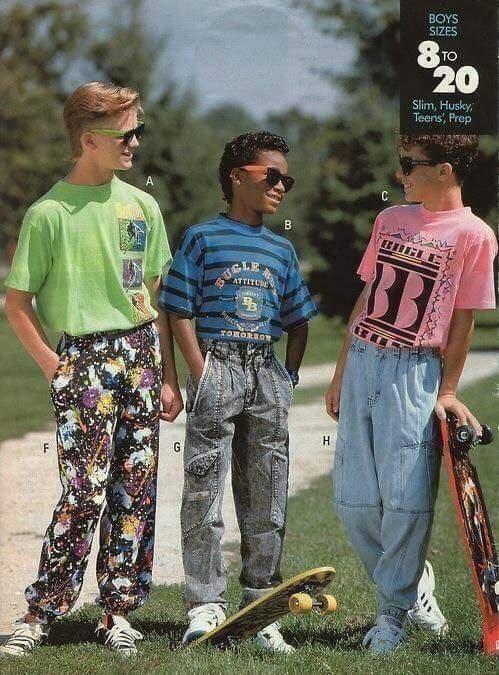 1991 წლის საბავშვო მოდა
