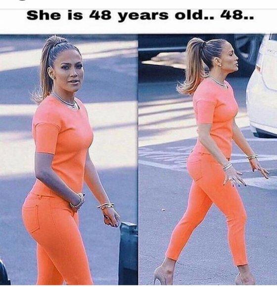 48 წლის ჯენიფერ ლოპესი კვლავ იდეალურ ფორმაშია