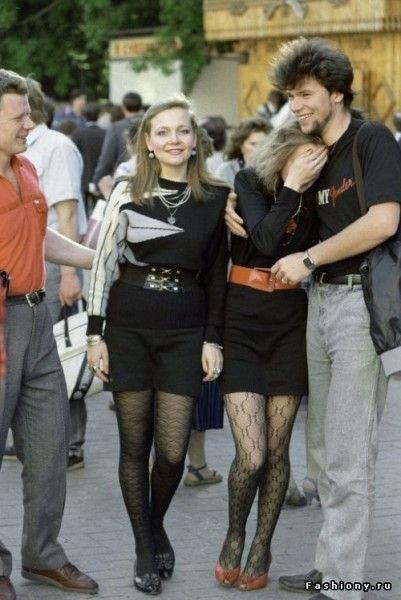 საბჭოთა კავშირის 80-იანი წლების მოდა