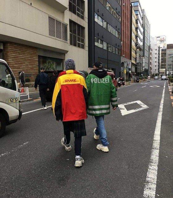 დემნა გვასალია მეუღლესთან ერთად ტოკიოში.