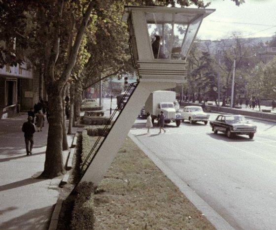 თბილისი-გასული საუკუნის 70-იანი წლები-მხატვრის სახლთან