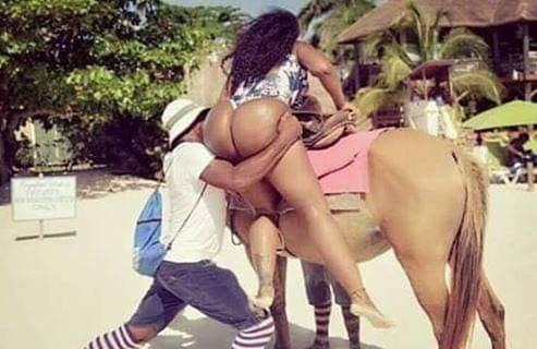 ჩნდება შეკითხვა, უფრო ინტერესი - მარტო მამაკაცის წელი იმსხვერპლა ამ ტაკუცუნებმა თუ ცხენიც შეიწირა?!