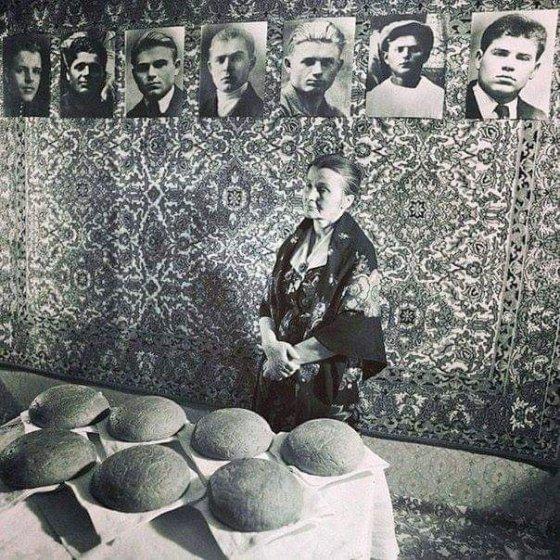დედა, რომელმაც მეორე მსოფლიო ომში 7 შვილი დაკარგა