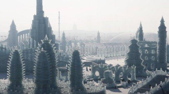 ყინულის ქალაქი  ხარბინში (ჩინეთი)