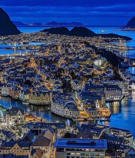 ოლესუნი.  ნორვეგია