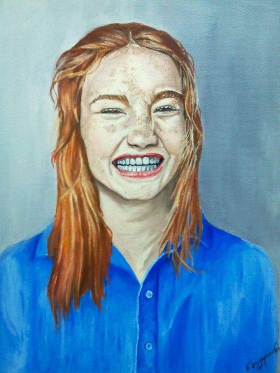 უნიჭიერესი ახალგაზრდა გოგონას- ნინო ხეცურიანის ნახატები