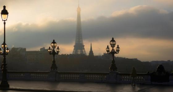 პარიზის ქუჩები წვიმის შემდეგ