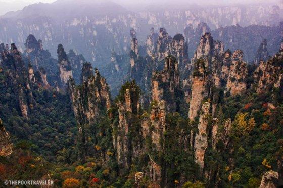 მთა ტიანზი, ჩინეთი