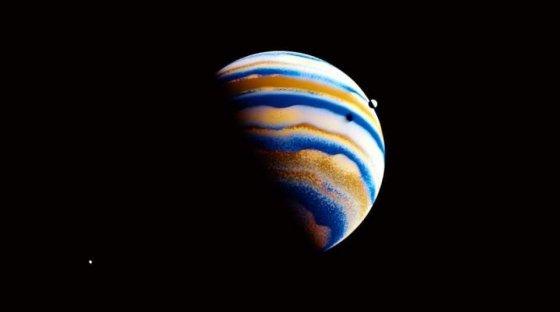 ნასას მიერ აღმოჩენილი ეგზოპლანეტის, 55 Cancri f-ის პირველი ფოტო