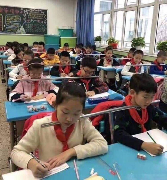 ასე  უფრთხილდებიან ბავშვების  ხერხემალს  ჩრდილო კორეაში