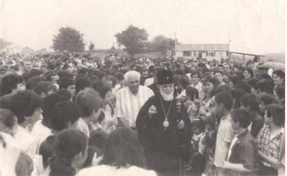 ილია II დედოფლისწყაროში - 1989 წ აგვისტო