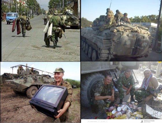 """გახსოვდეთ და ნუ დაივიწყებთ, რუსი სამხედროების """"ვაჟკაცობა"""" სამაჩაბლოში"""