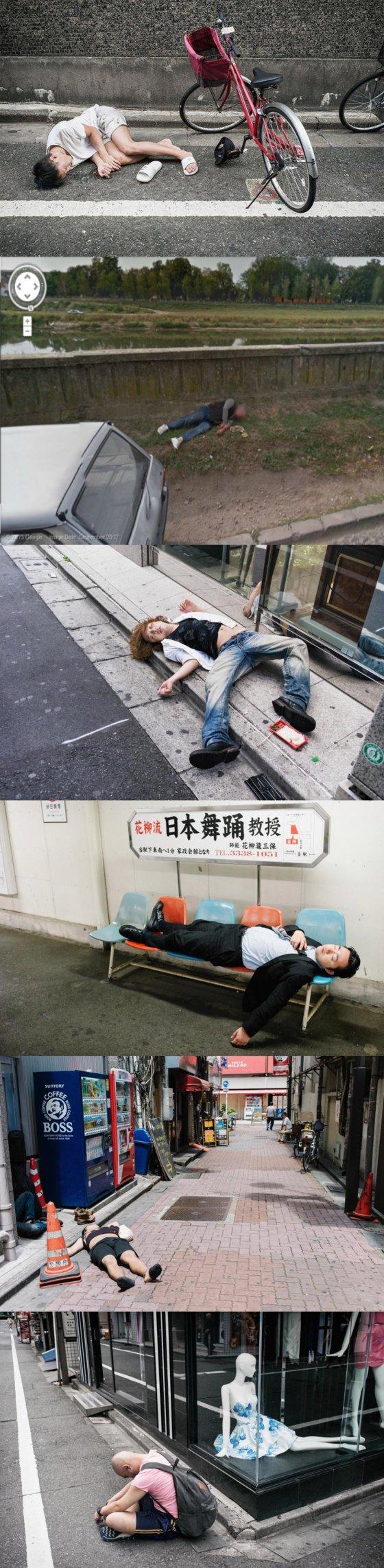 ჩემდა გასაკვირად, იაპონელებსაც ყვარებიათ გათიშვამდე დალევა