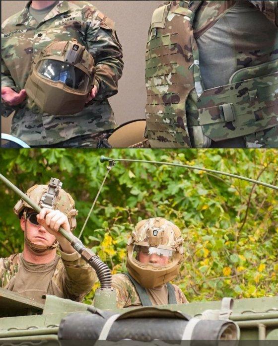 ახალი ამერიკული სამხედრო ჩაფხუტი ასე გამოიყურება