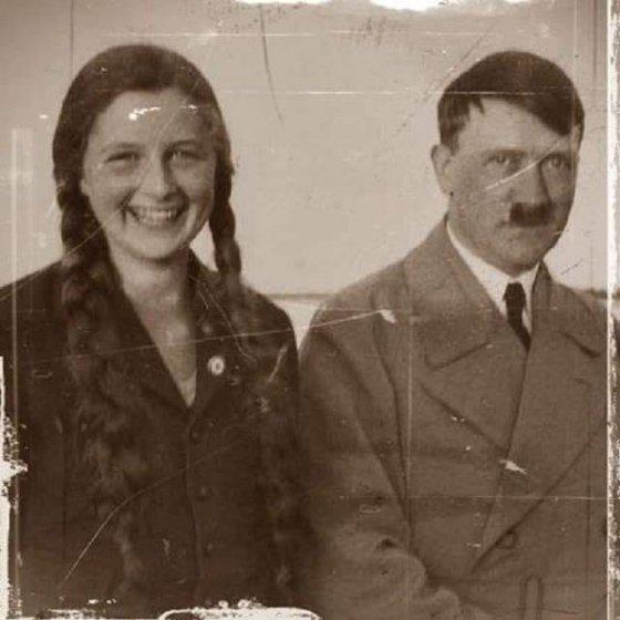 ადოლფ ჰიტლერი და გელი რაუბალი