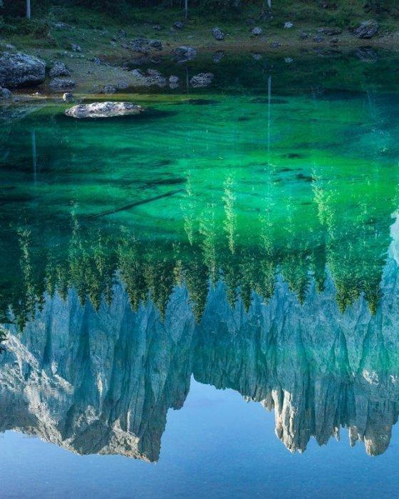 ჯადოსნური სილამაზის ბუნების სარკე
