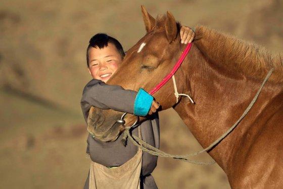 მონღოლი და ცხენი განუყოფელია