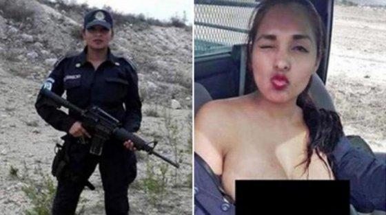ნადია გარსია, მექსიკელი პოლიციელი ქალი  ნეტა როგორ ატევს ფორმის ტანსაცმელში ამხელა ბიუსტს