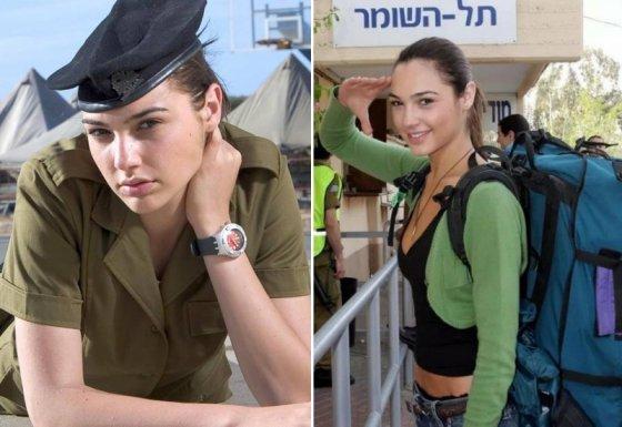გალ გადოტი ისრაელის ჯარში ყოფნის დროს