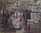 იაპონელი გეიშა- მე-19 საუკუნის ფოტო
