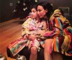 ლელა შვილთან ერთად