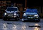 Mercedez G Class & BMW X5