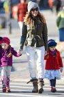 სარა ჯესიკა პარკერი შვილებთან ერთად