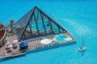მსოფლიოში ულამაზესი პირამიდა  აუზი