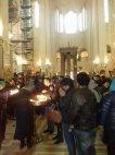 ინდოელი მლოცველები ქართულ ტაძარში ლოცვას ესწრებიან და ლოცულობენ