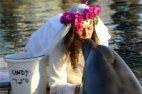 დელფინზე დაქორწინებული გოგონა