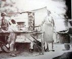 """ფოტოზე პირველად აღბეჭდილი """"საშაურმე"""", ოტომანთა იმპერია (ოსმალეთი), 1855 წელი."""