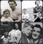 ბითლზი ბავშვობაში მშობლებთან ერთად:ჯორჯი,პოლი,ჯონი და რინგო