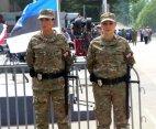 ულამაზესი გოგონები ქართული სამხედრო პოლიციიდან