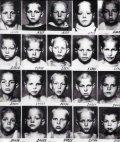 """""""ხალხის მტრის"""" შვილები სპეც. ბავშვთა სახლიდან. საბჭოთა კავშირი 1930 წელი."""