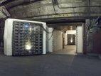 კარები რომლის უკანაც შესაძლებელია გადარჩენა 30 ტონიანი ატომური ბომბის აფეთქების შემთხვევაშიც.