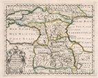 ნიკოლა სანსონი (1600-1667). რუკა.