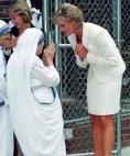 პრინცესა დაიანა დედა ტერეზასთან ერთად,ნიუ იორკი 1997 წელი