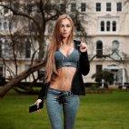 სპორტული აღნაგობის გოგოები იდეალურები არიან