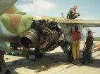 ქართული სითბური რაკეტის კვალი რუსულ მოიერიშე თვითმფრინავზე