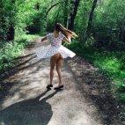 ქალი და ბუნება