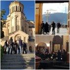 სამებაში, აფხაზეთიდან გადმოსვესვენებულ 25  გმირს მიაგეს  პატივი- არემარე ნათელმა მოიცვა