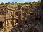 კლდეში გამოკვეთილი ტაძარი კაილასანათჰა ითვლება ერთ-ერთ უნიკალურ არქიტექტურულ შედევრად მსოფლიოში