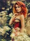 წითური გოგო