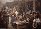 ნეაპოლის ბაზარი-ფერადი ფოტო 1899 წელი