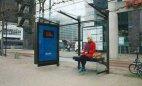 ავტობუსის გაჩერება ჰოლანდიაში