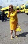 """რა საყვარელიააა ყვითელი """"მარშუტკებიც"""" როგორ უხდება"""