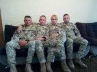დედა და სამი შვილი ავღანეთში ერთად მსახურობს