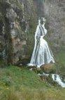 """ჩანჩქერი """"პატარძალი"""" ყაზბეგის მუნიციპალიტეტში ანუ ბუნების საოცრება გაგაოცებთ"""