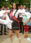 აზერბაიჯანელმა მოსწავლეებმა ბოლო ზარზე  ქართული ცეკვები შეასრულეს